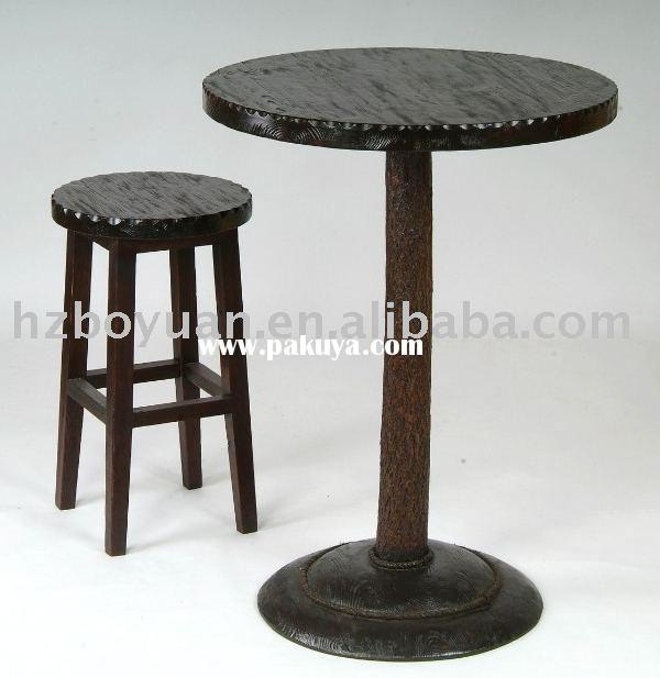 Irish barstool and tableWooden barstool wooden Bar tablePub Bar Furniture