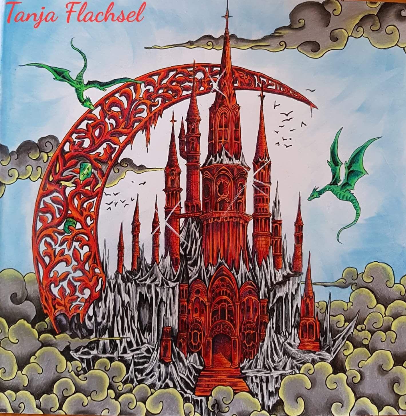   Kerby Rosanes   Color pencil art, Enchanted forest ...