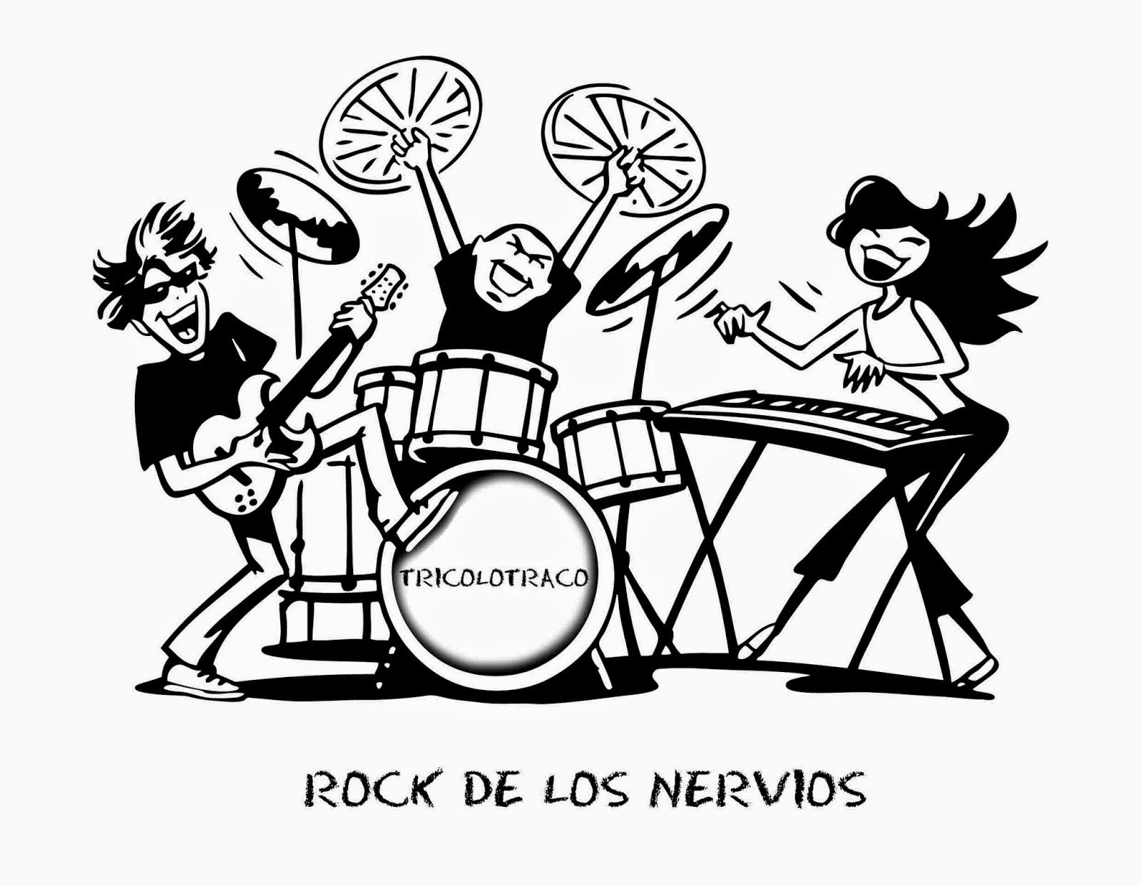 Infantil Mercedarias: rock de los nervios