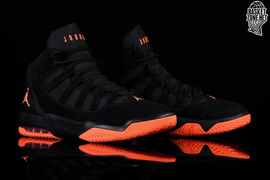 canta Grupo Existe  Nike Air Jordan Max Aura Black Orange Price €112.50 Basketzone.net   Air  jordans, Nike air, Nike