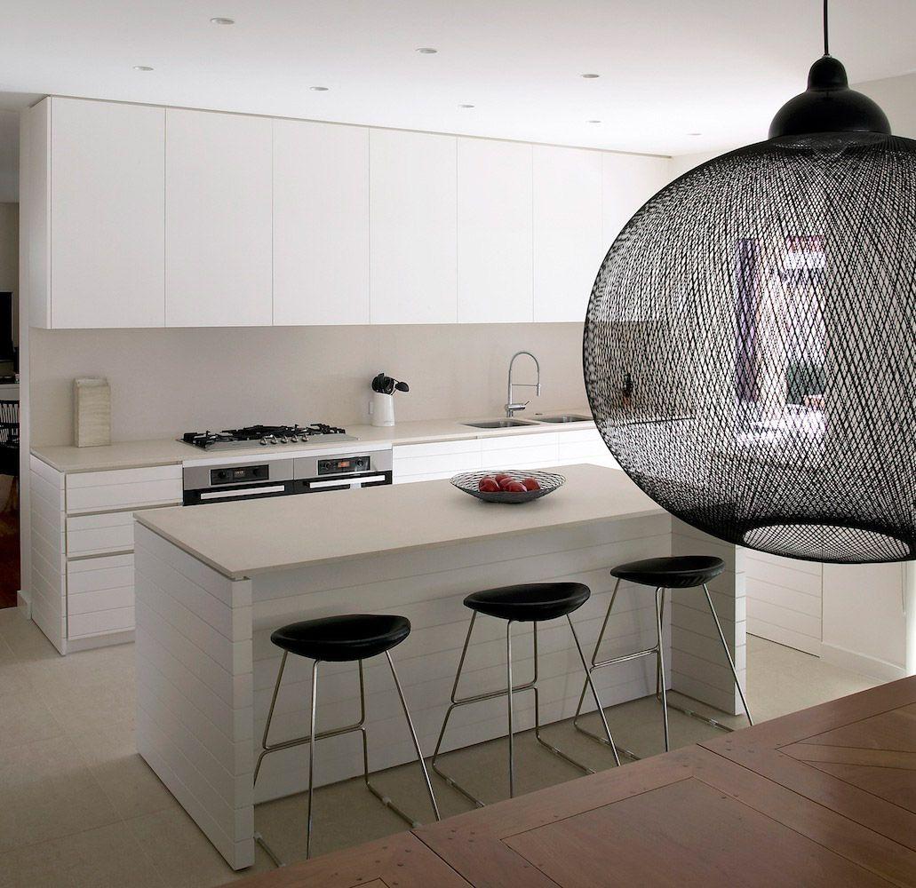 Design der vorderseite des hauses robson rak architects u portsealight  kitchen art  pinterest
