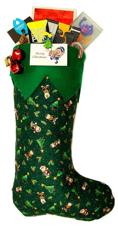 pre filled christmas stocking from santaselvescouk - Pre Filled Christmas Stockings