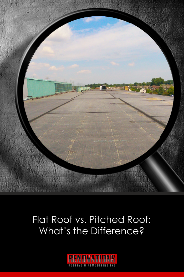 Flat Roof Vs Pitched Roof What S The Difference Commercial Roofing Roofing Systems Commercial Roofing Systems