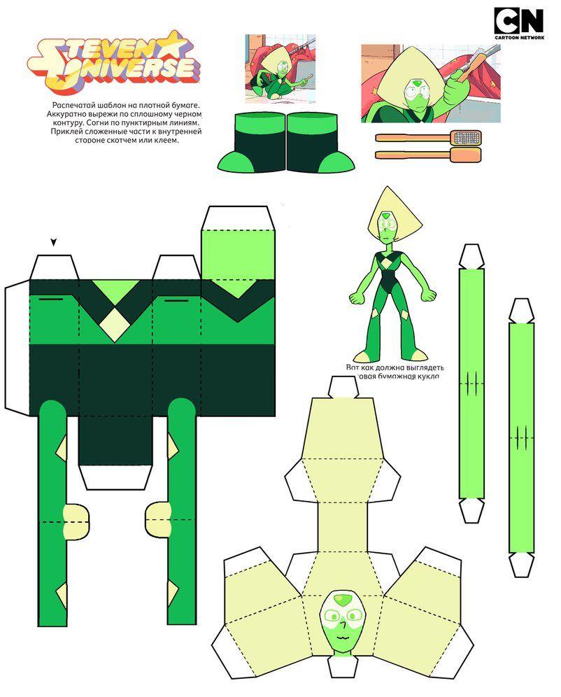 Alexandritepearl Papercraft Template By Portadorxdeviantartcom