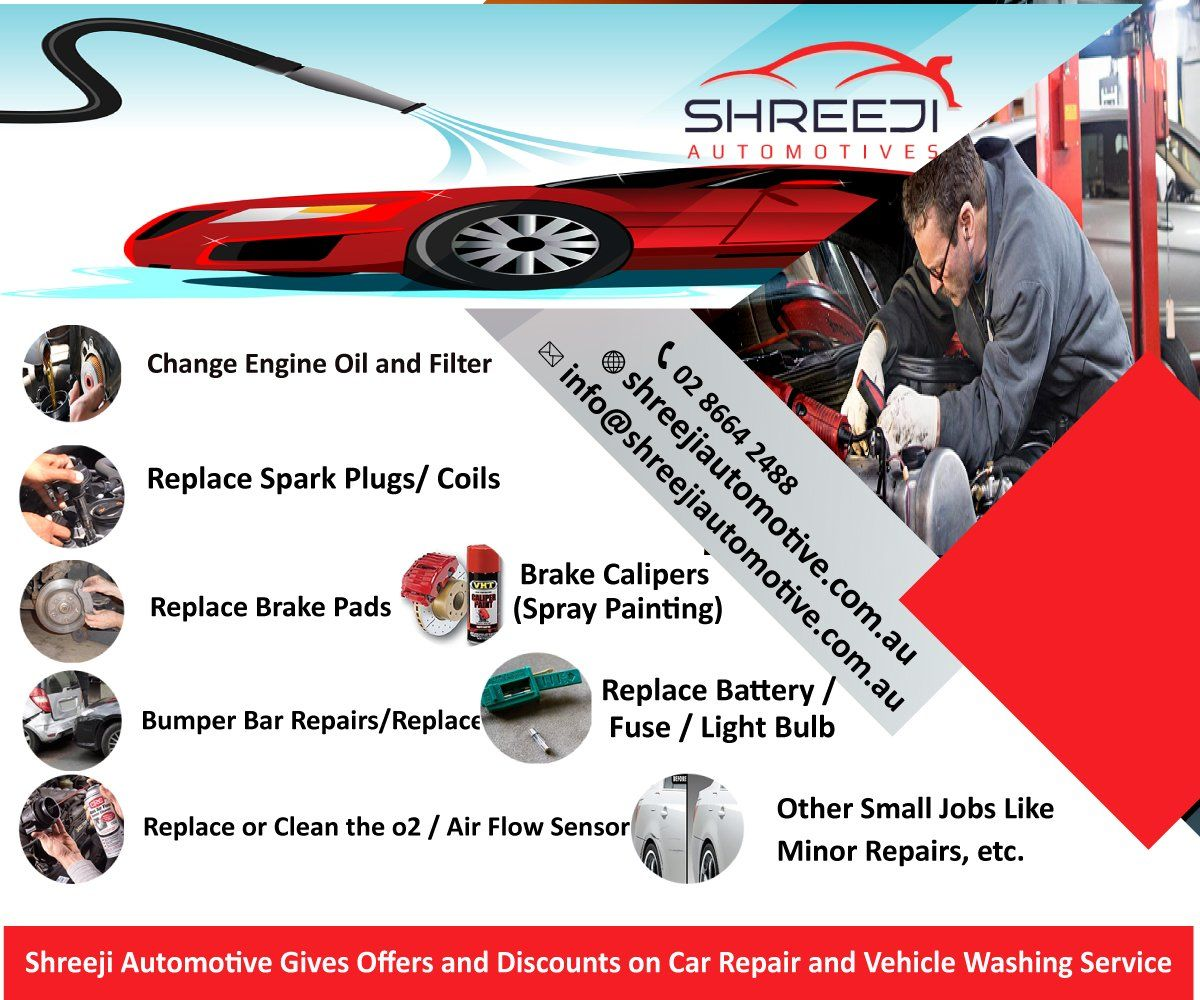 shreejiautomoti Gives Offers and Discounts on Car Repair