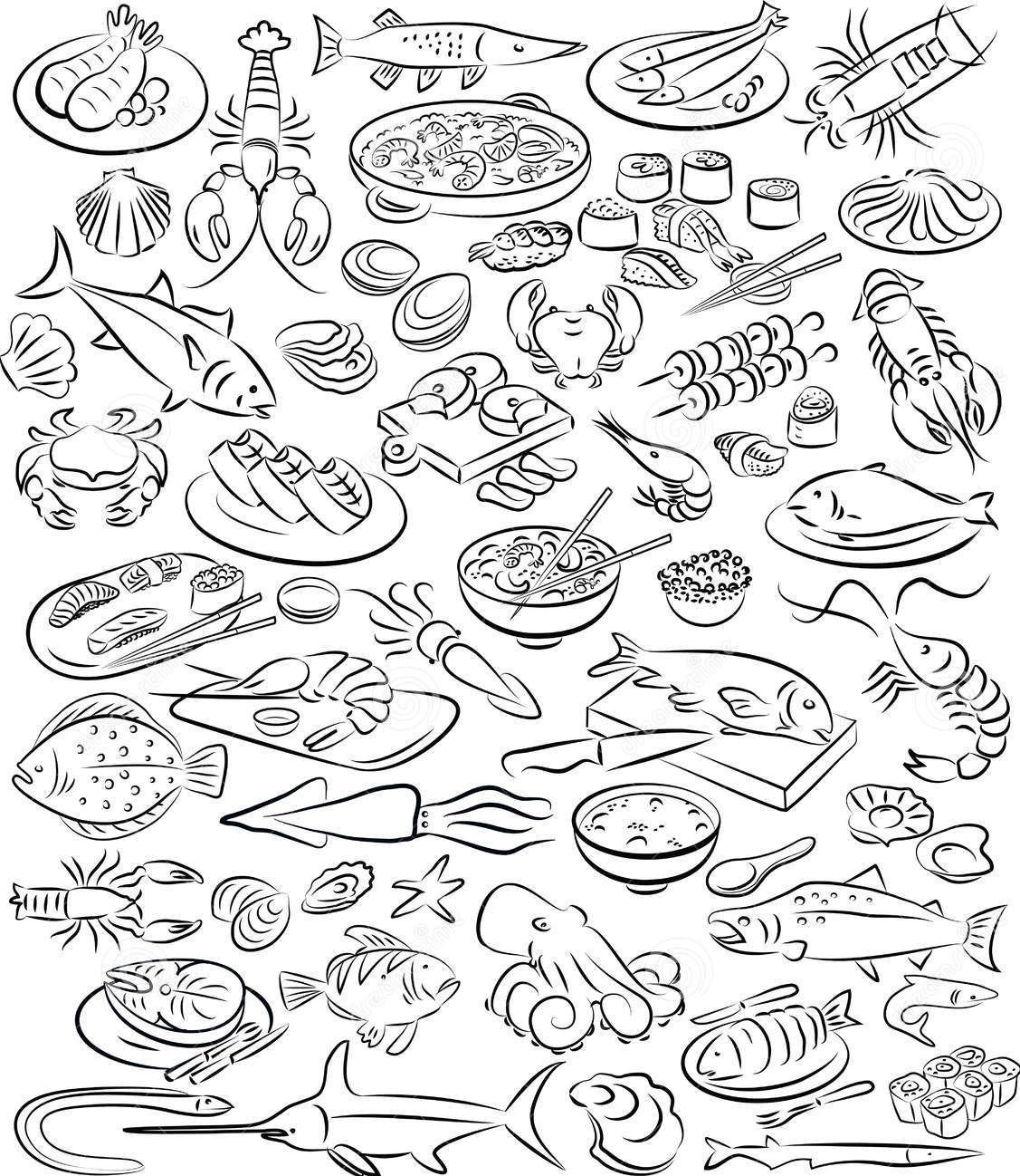 coloring pages food - Coloring Pages Food