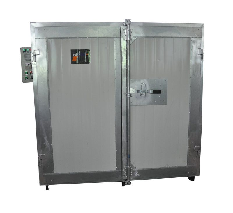Industrial Electrostatic Powder Coating Oven Exported To