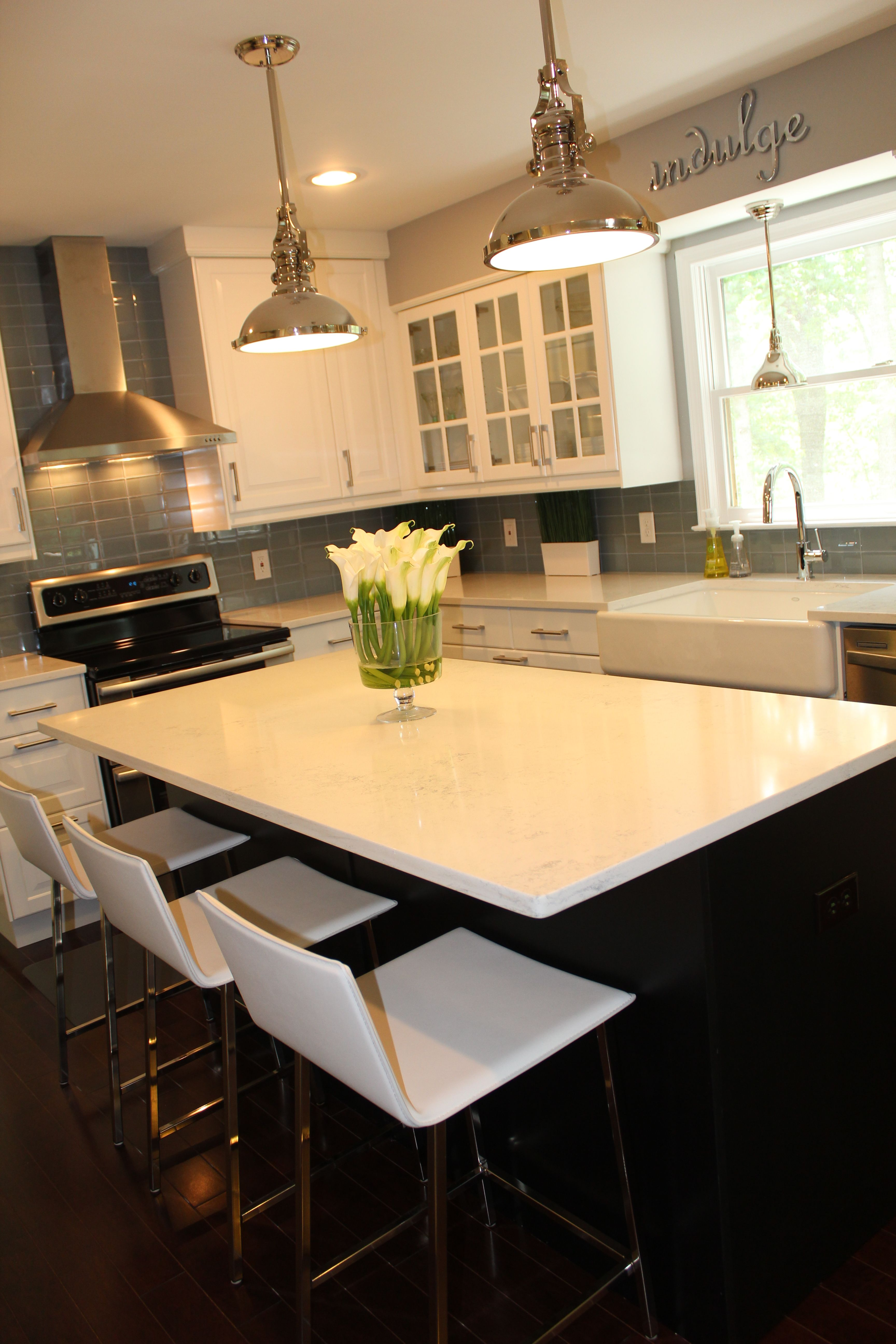 Our New Kitchen Pic 2 Cost Of Countertops Kitchen Layout