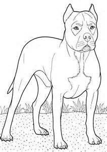 Free Printable Boxer Dog Coloring Pages Animal For Kids 22 Dog