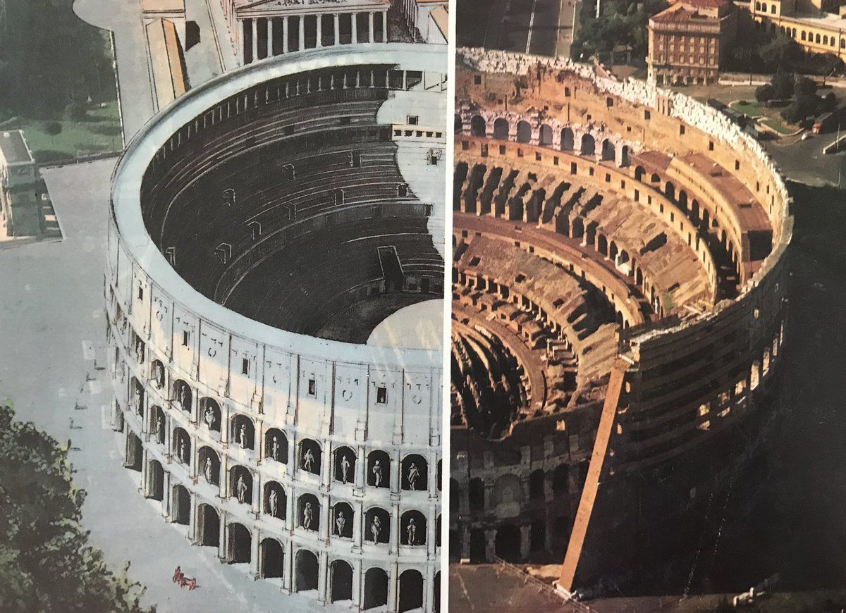 Colosseum Facts Colosseum Rome Ancient Roman Architecture Roman Architecture