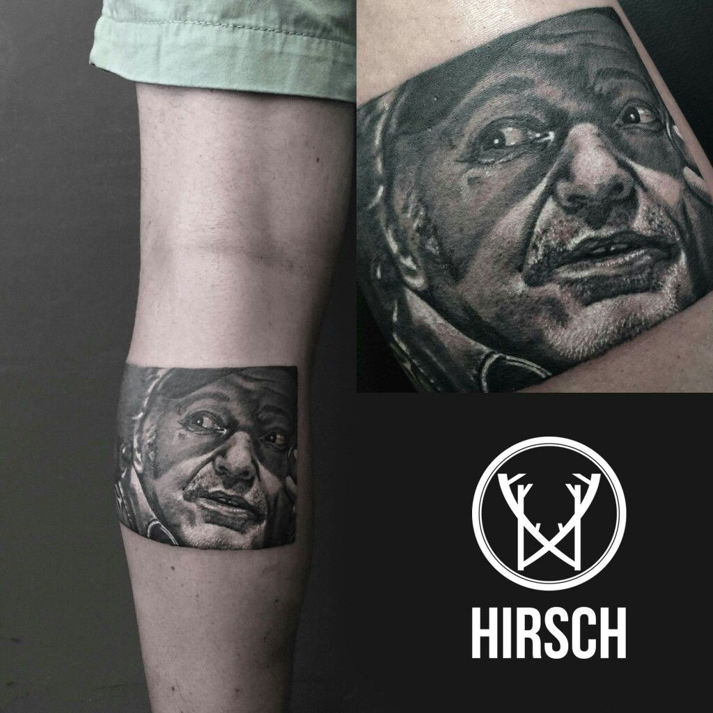Hirsch Tattoo Lab Tattoos Tattoo Artists Portrait Tattoo
