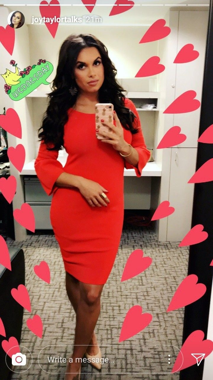 Pretty Joy Taylor in Red Dress Joy taylor, Dresses, Red