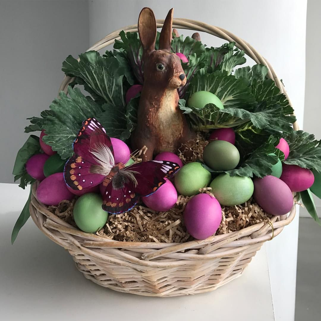 """2,473 Likes, 20 Comments - Martha Stewart (@marthastewart48) on Instagram: """"@seenbysharkey has done it again  my annual Easter basket arrived yesterday and it is beautiful!!…"""""""