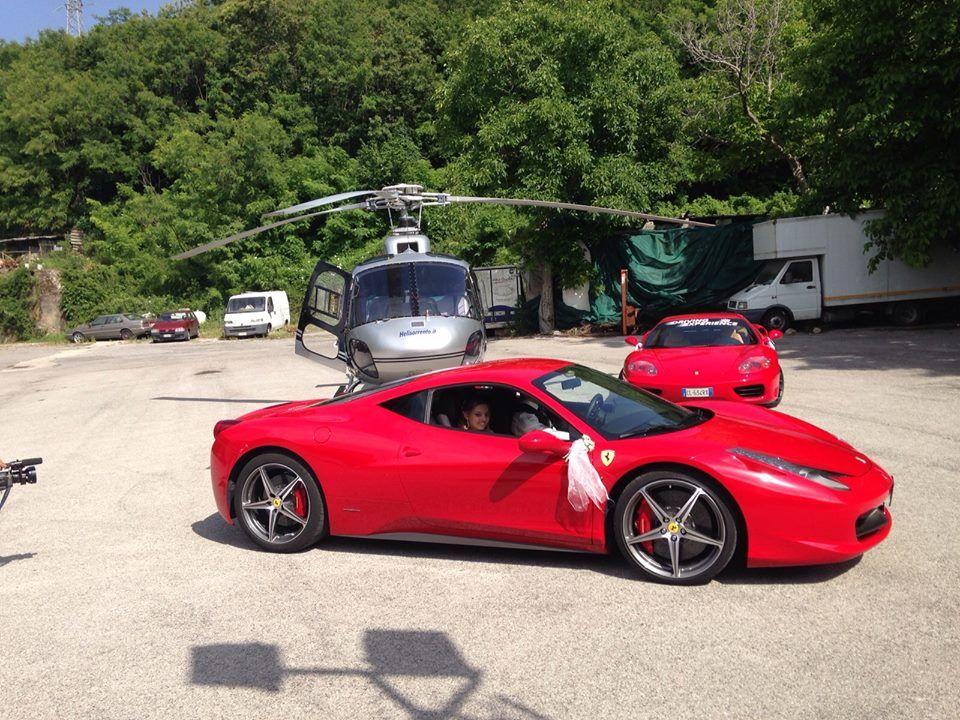 Due Ferrari ed un Elicottero!!!