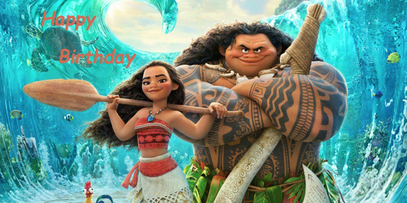 Moana Birthday Birthday Pinterest Film Disney E Natale