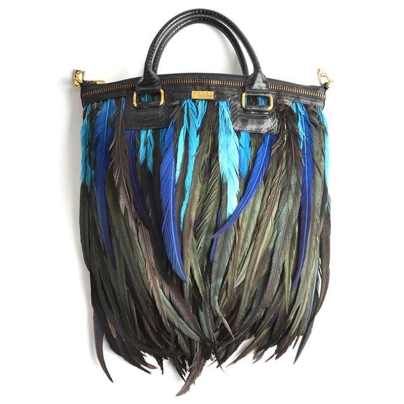 Lianto Feather Jade Bag @Sarah Chintomby benson from that website you sent me!