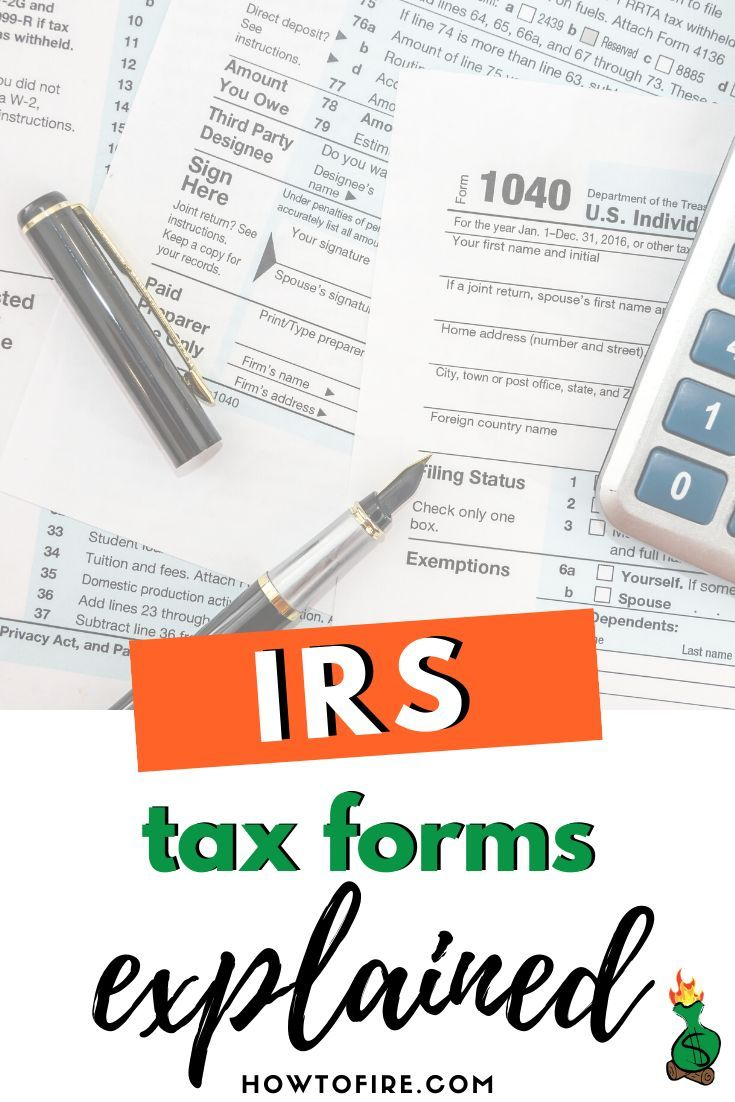If you're filing your 2020 tax forms, check out this comprehensive guide. We explain what you need to know about common IRS tax forms. #2020 #taxes #tax #taxforms #savemoney #money #wealth #lifeoptimizations #intentionalliving #frugalliving #FIRE #financialindependence #retireearly #selfemployed #entrepreneur