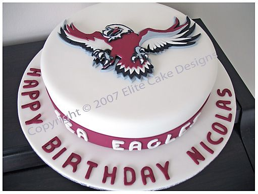 Manly Sea Eagles Birthday Cake Sydney Dream and Dazzle Cakes