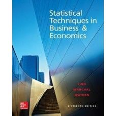 Solution manual for statistical techniques in business and economics solution manual for statistical techniques in business and economics 16th edition lind marchal fandeluxe Image collections