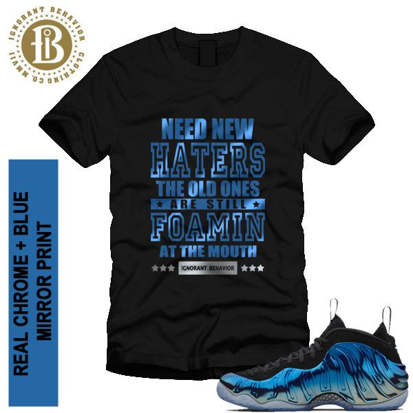 81af7ee4fb6a ... Tee shirt · FOAMPOSITE BLUE MIRROR - NEW HATERS - SS BLK (MEN) ...