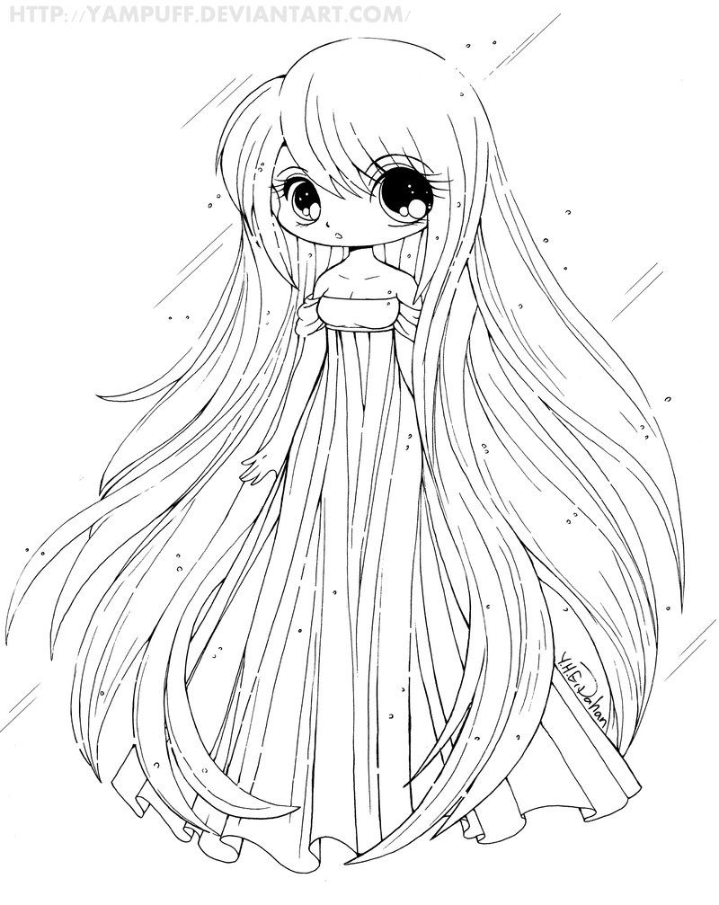 Anime princess coloring pages - Boy Or Girl