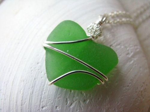 sea glass...how cool is this!?