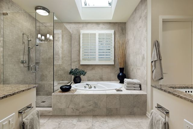 Featuring Wild Silver In 18x18 Tiles For Floors And 3x6 For Shower Bathroom Remodel Cost Modern Bathroom Tile Bathroom Design Guide