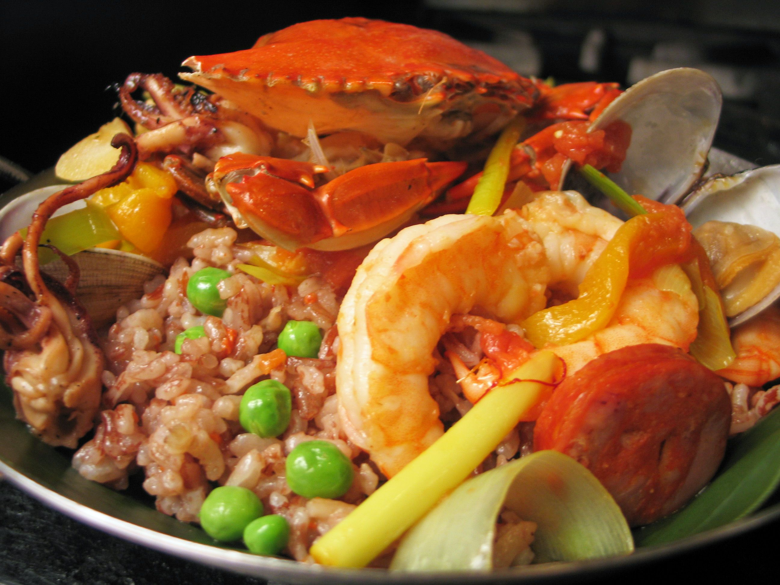 Diket paella using heirloom rice from the philippine terraces diket paella using heirloom rice from the philippine terraces forumfinder Image collections