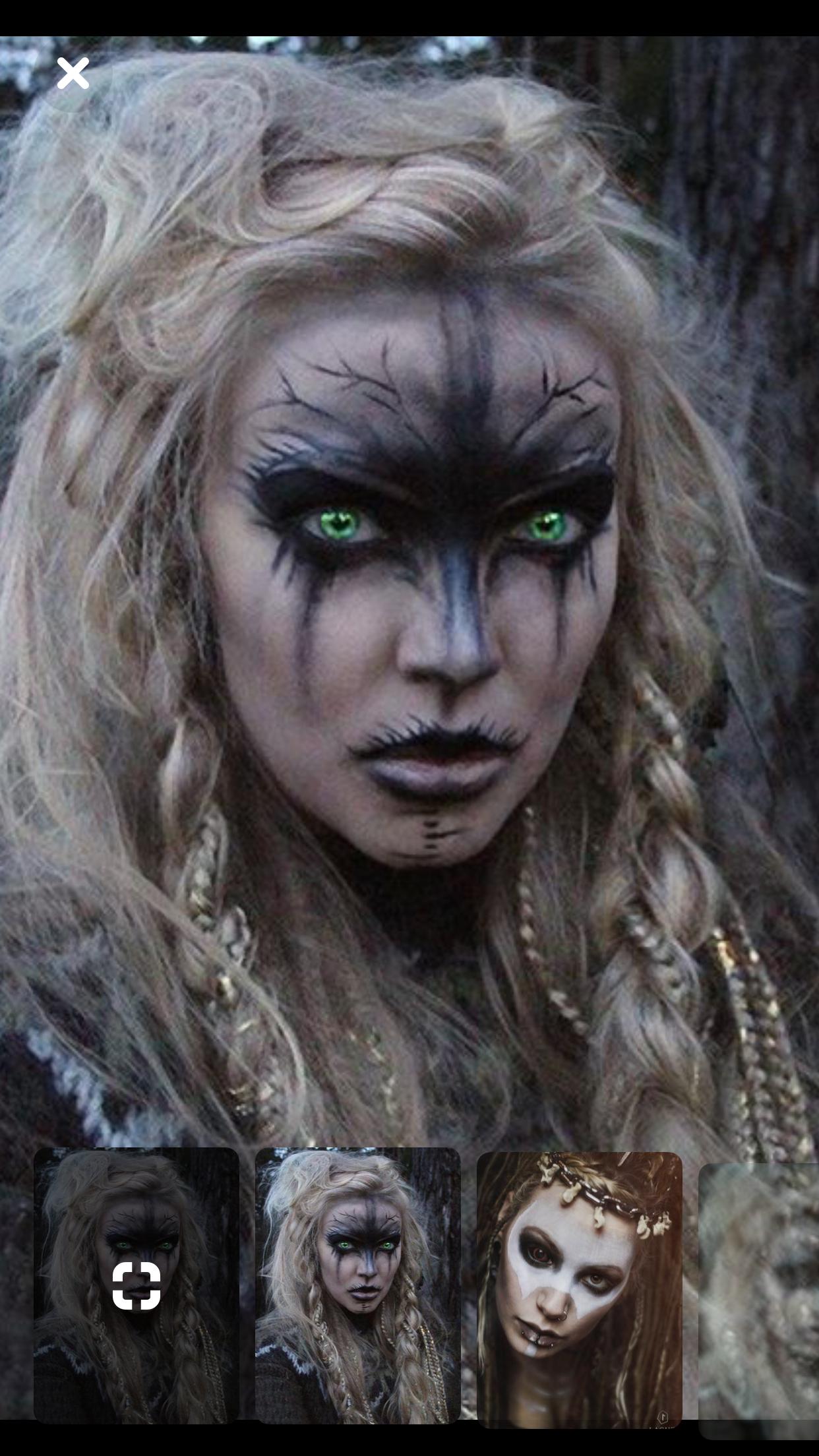 Halloween Makeup halloween makeup witch