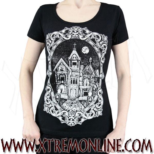 Camiseta de manga corta Haunted Mansion
