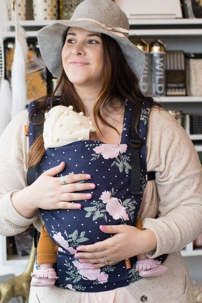 9aa7ab67ebd Tula Free-to-Grow Baby Carrier Blossom - Little Zen One babywearing canada  usa