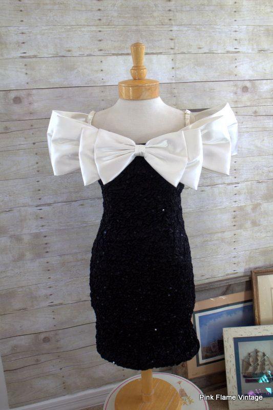 Cocktail Dress By Zum Zum-Black \u0026 White