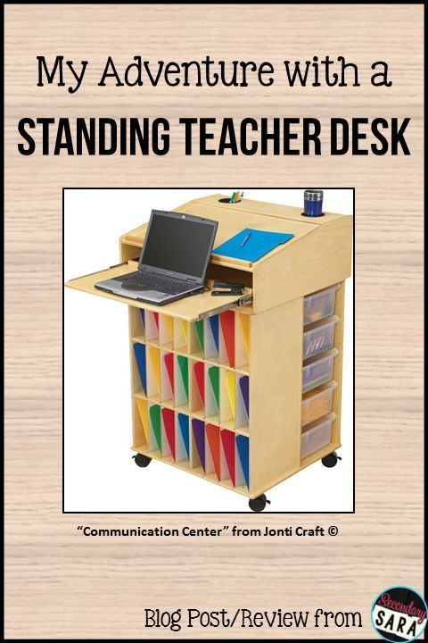 Blog Post My Adventures With A Standing Teacher Desk Future