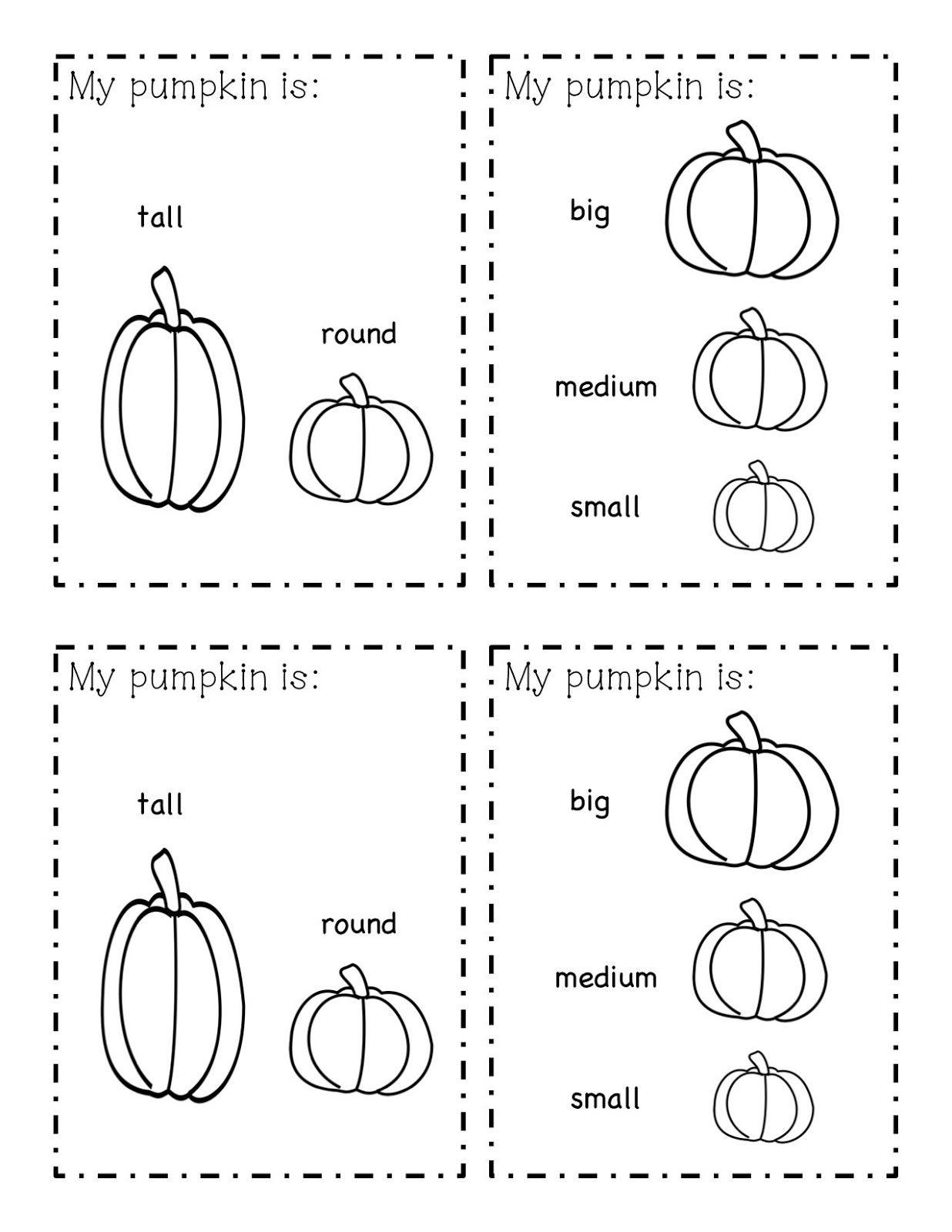 Pumpkin Exploration Book Freebie