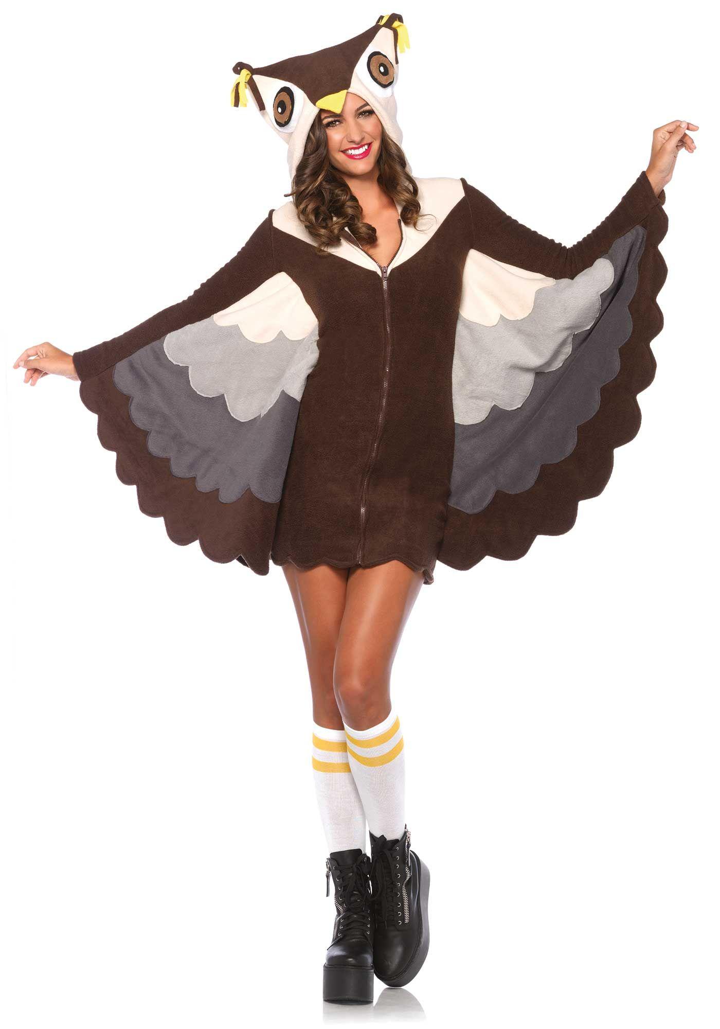 leg avenue cozy owl costume halloween animal bird - Cat Costume Ideas Halloween