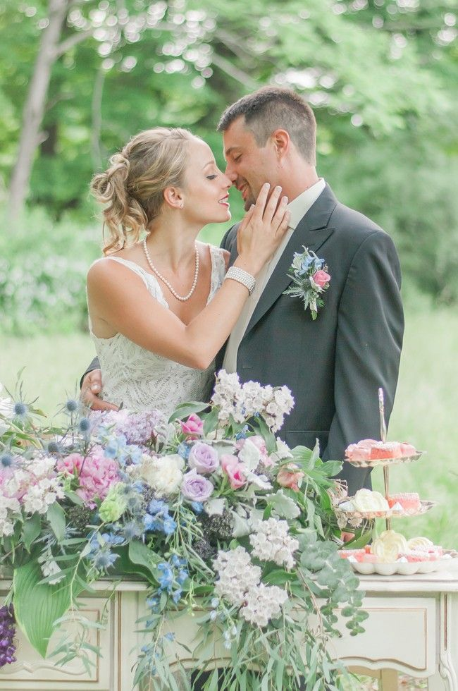 Romantic and Vintage Soft Palette Wedding Inspiration - Fab You Bliss