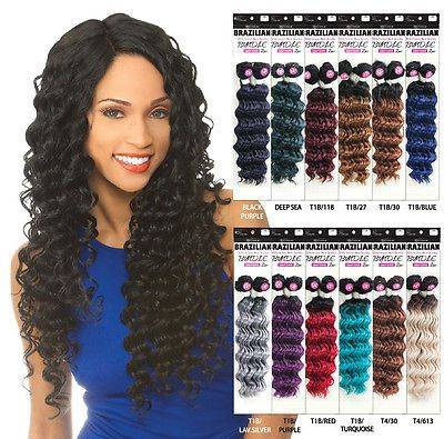 15 Packs Deal] Human Hair Weave Remi Touch Deep Brazilian Natural ...