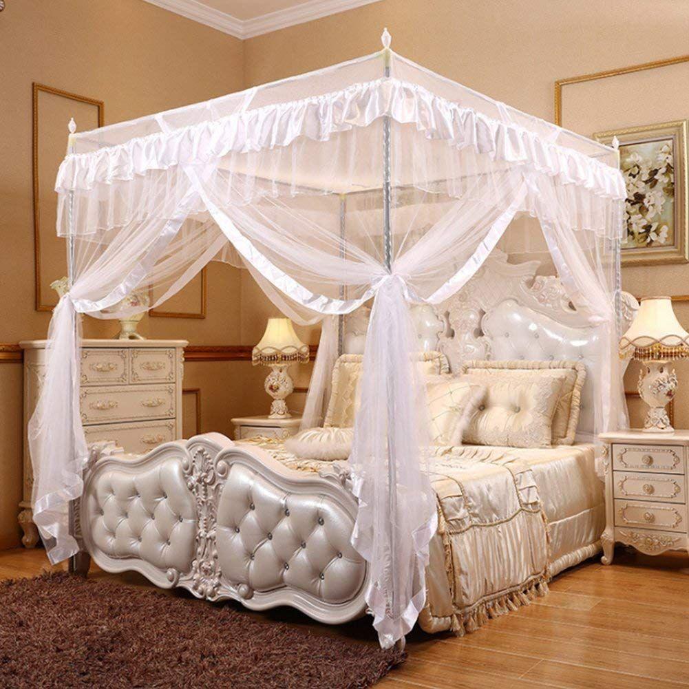 Schoner Spitzenentwurf Prinzessinart Nett Fur Damenschlafzimmerdekoration Bettvorhang Bett Ideen Schlafzimmer