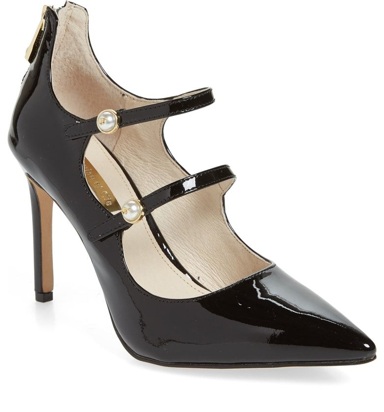 8f6ee3360e Louise et Cie Jolanie Pump (Women) at Nordstrom.com. A fierce take on the  mary jane, this double-strap pump brings extra levels of confidence with a  sharply ...