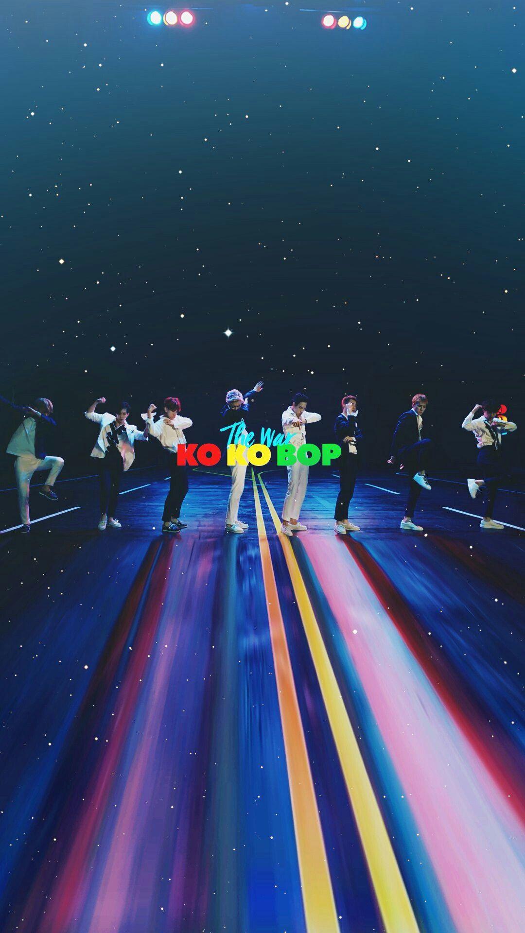Exo kokobop thewar exo pinterest exo kpop and - Exo background ...