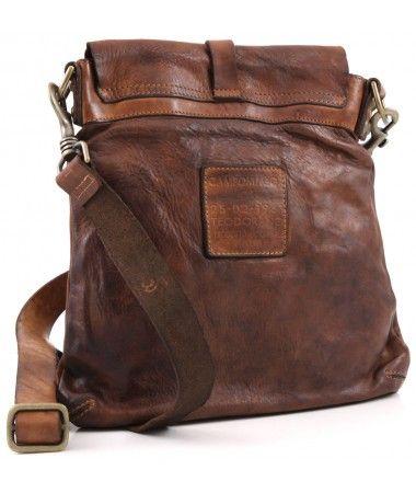 a15db66123dd Campomaggi Lavata Shoulder Bag Leather cognac 28 cm - C1256VL-1702 -  Designer Bags Shop - wardow.com