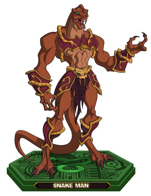 Soldado snake man 5   Masters of the Universe   He man