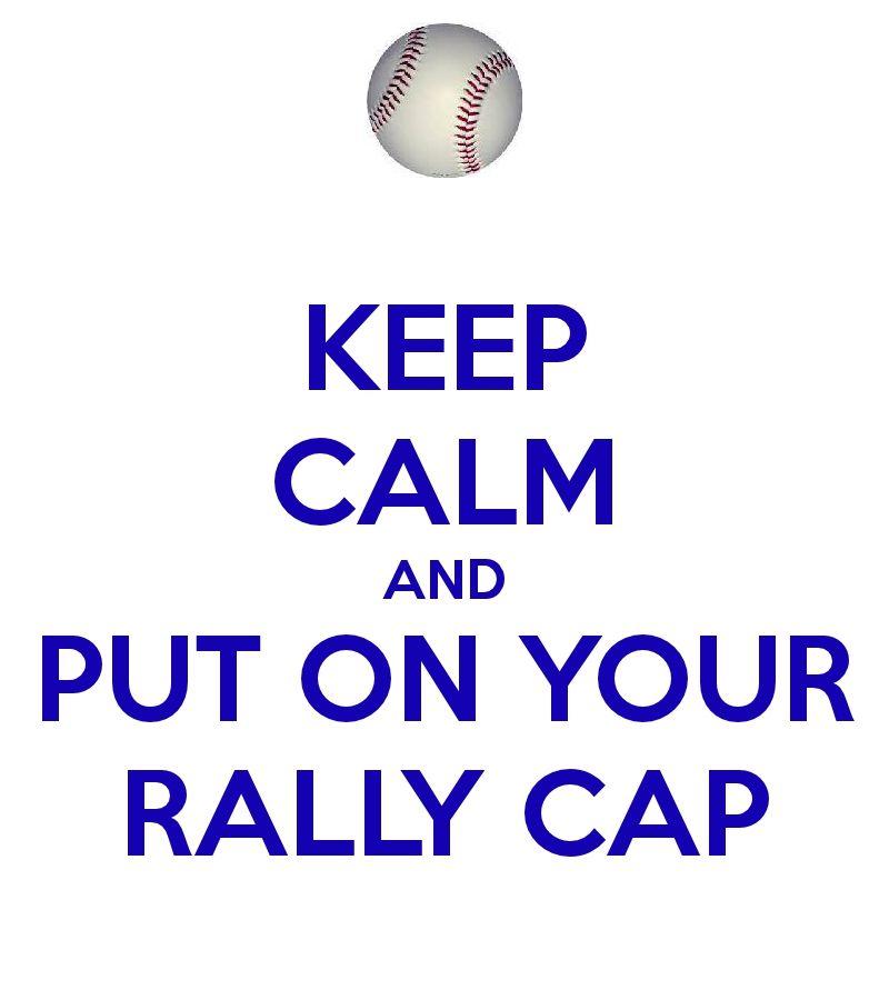 Rally Cap! Baseball.