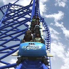 Six Flags St Louis In Partnership With Warner Bros Consumer Products And Dc Entertainment Today Ann Roller Coaster Best Roller Coasters Roller Coaster Ride