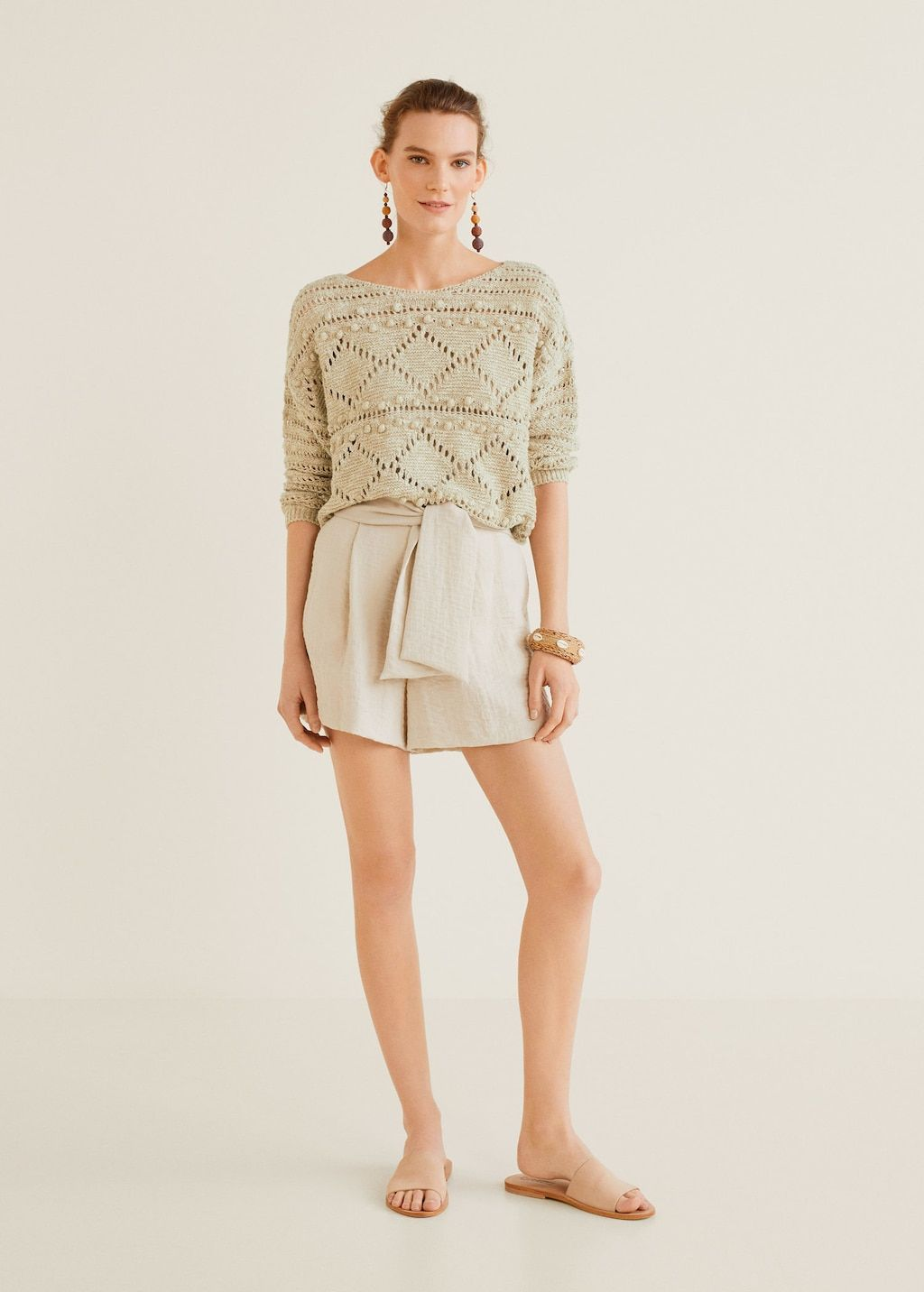 nouveau produit 34113 91c38 Pull-over maille lin - Femme in 2019   I want   Spring ...