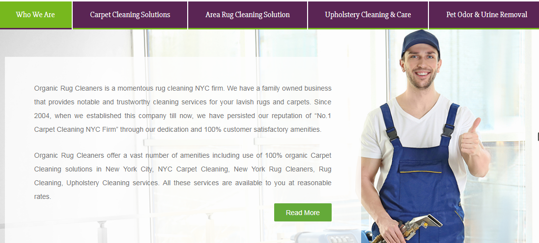 At Organic Rug Cleaners We Offer Carpet Cleaning Nyc With The