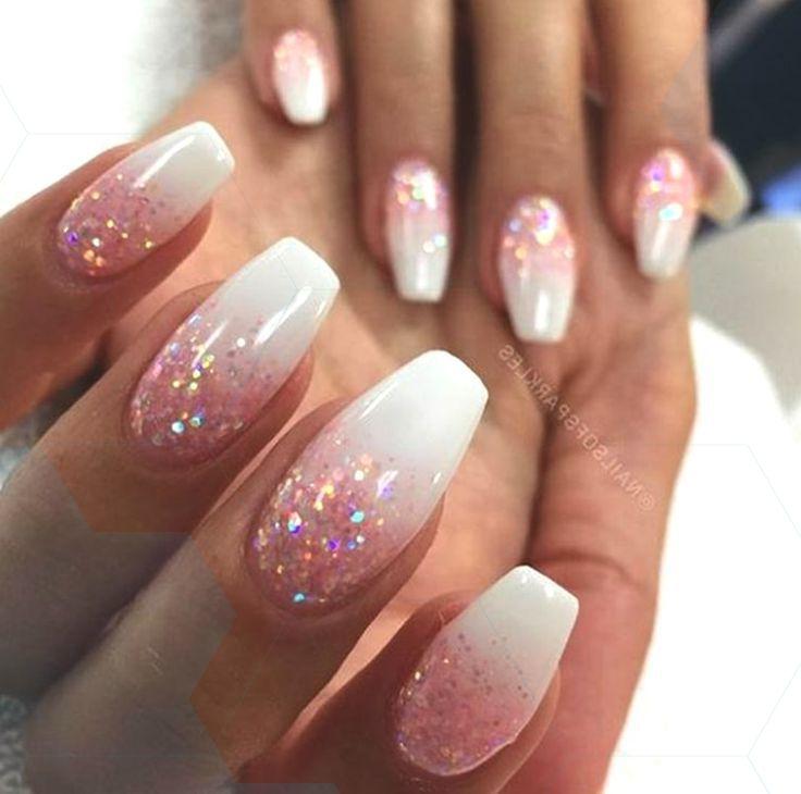 10 Elegant Rose Gold Nail Designs That You Should Try Rose Gold Nails Design Gold Nail Designs Gold Glitter Nails