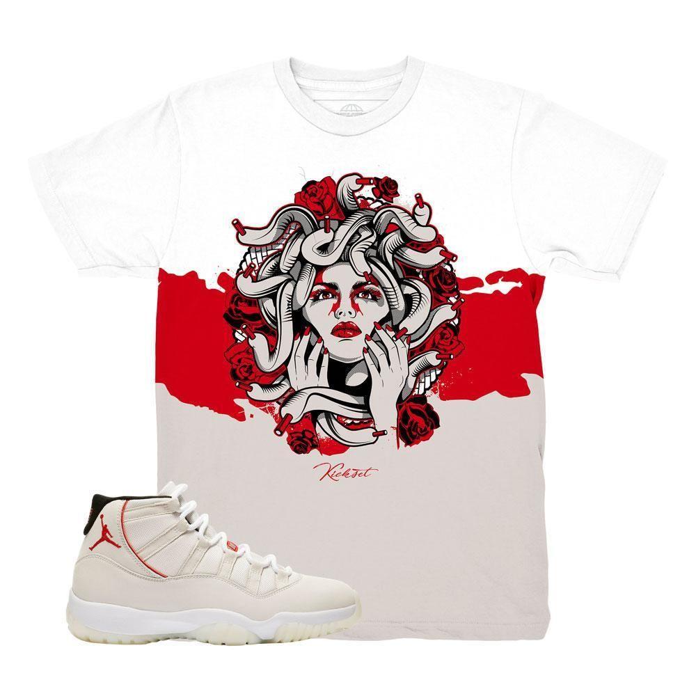 Jordan 11 Platinum Tint Medusa Roses