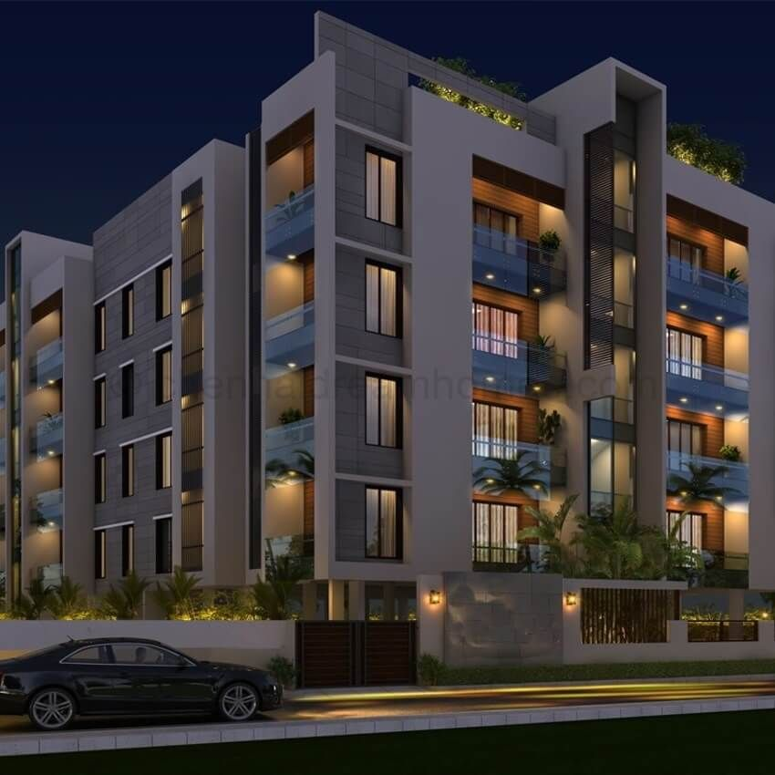 3 BHK Luxurious Apartments In