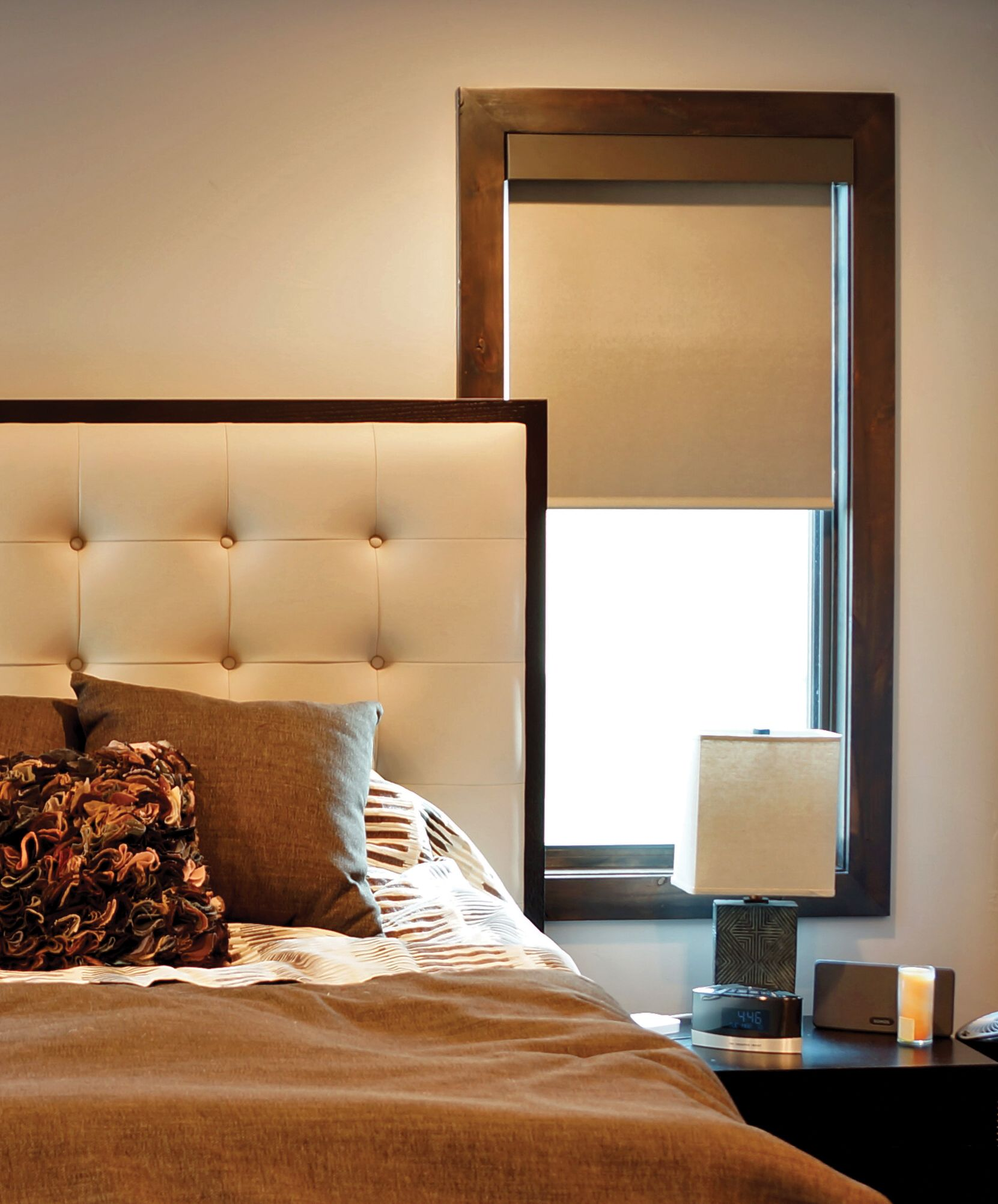 Insolroll Roller Black Out Shades for bedroom comfort